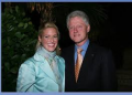 Sonia with Former U.S. President Bill Clinton